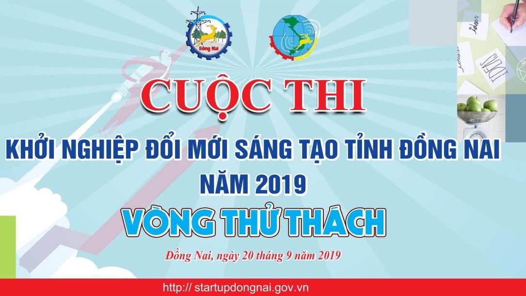 Cuộc thi khởi nghiệp đổi mới sáng tạo tỉnh Đồng Nai năm 2019