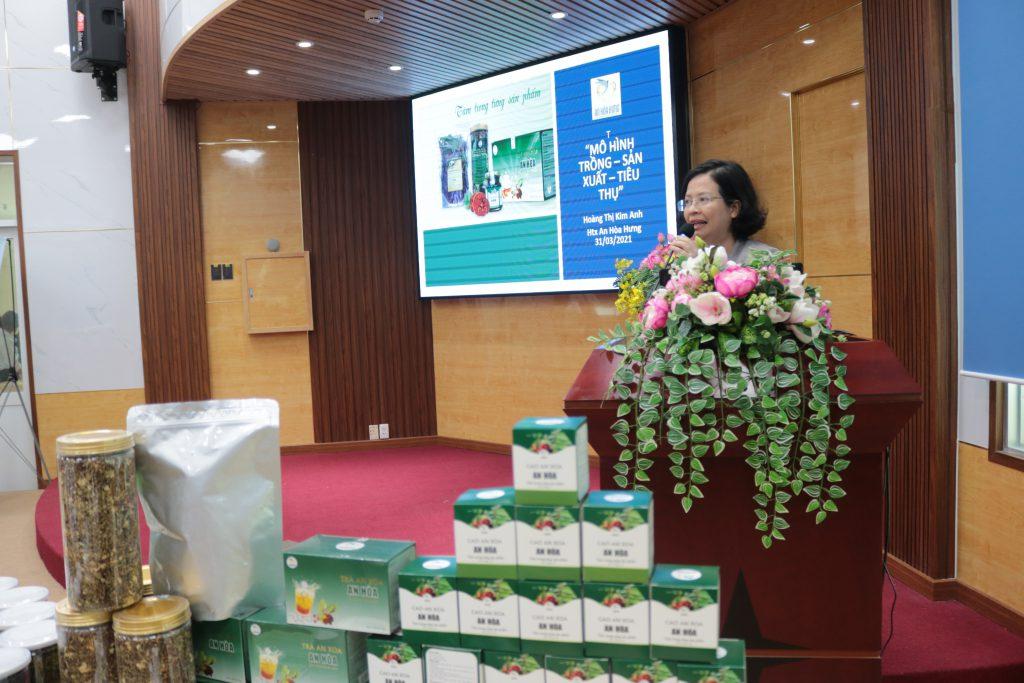 Sản phẩm bảo vệ sức khỏe từ cây an xoa đạt giải Nhì cuộc thi khởi nghiệp đổi mới sáng tạo tỉnh Đồng Nai năm 2020