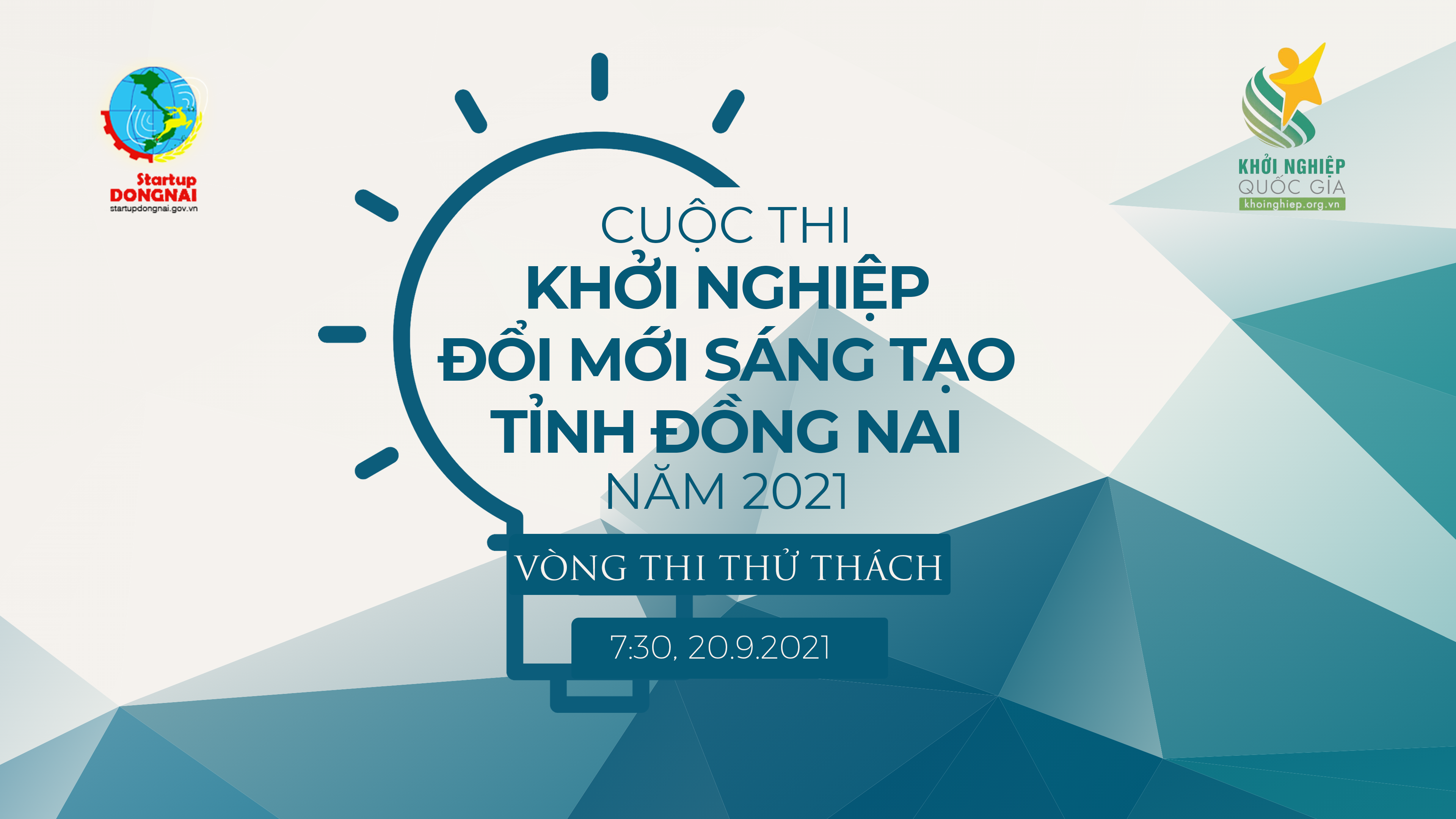 Vòng thử thách Cuộc thi Khởi nghiệp đổi mới sáng tạo tỉnh Đồng Nai năm 2021
